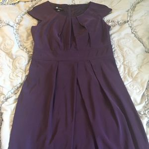 NWT AB Studio Purple Professional Dress